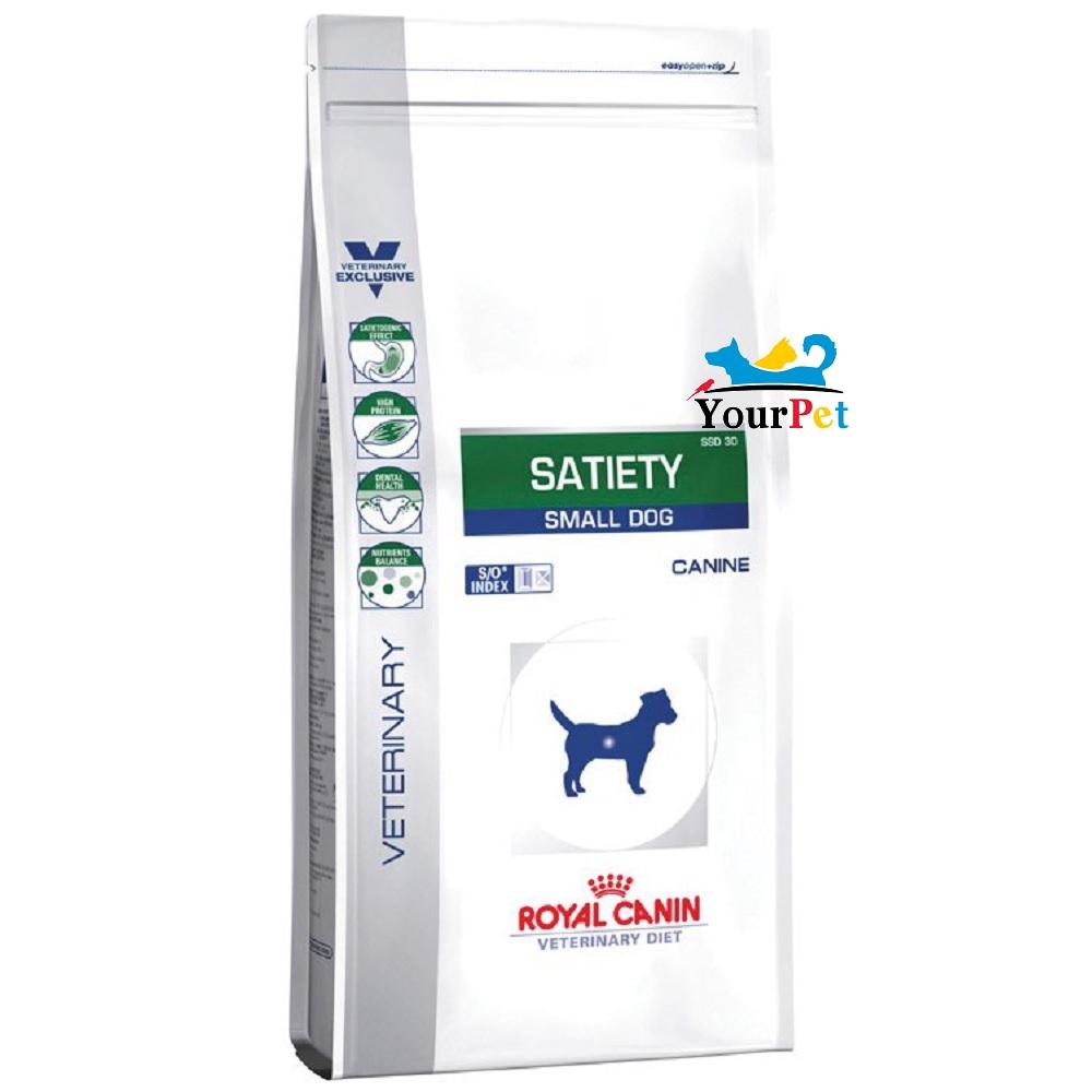 Ração Royal Canin Satiety Small Dog para Cães de Raças Pequenas (1,5kg)