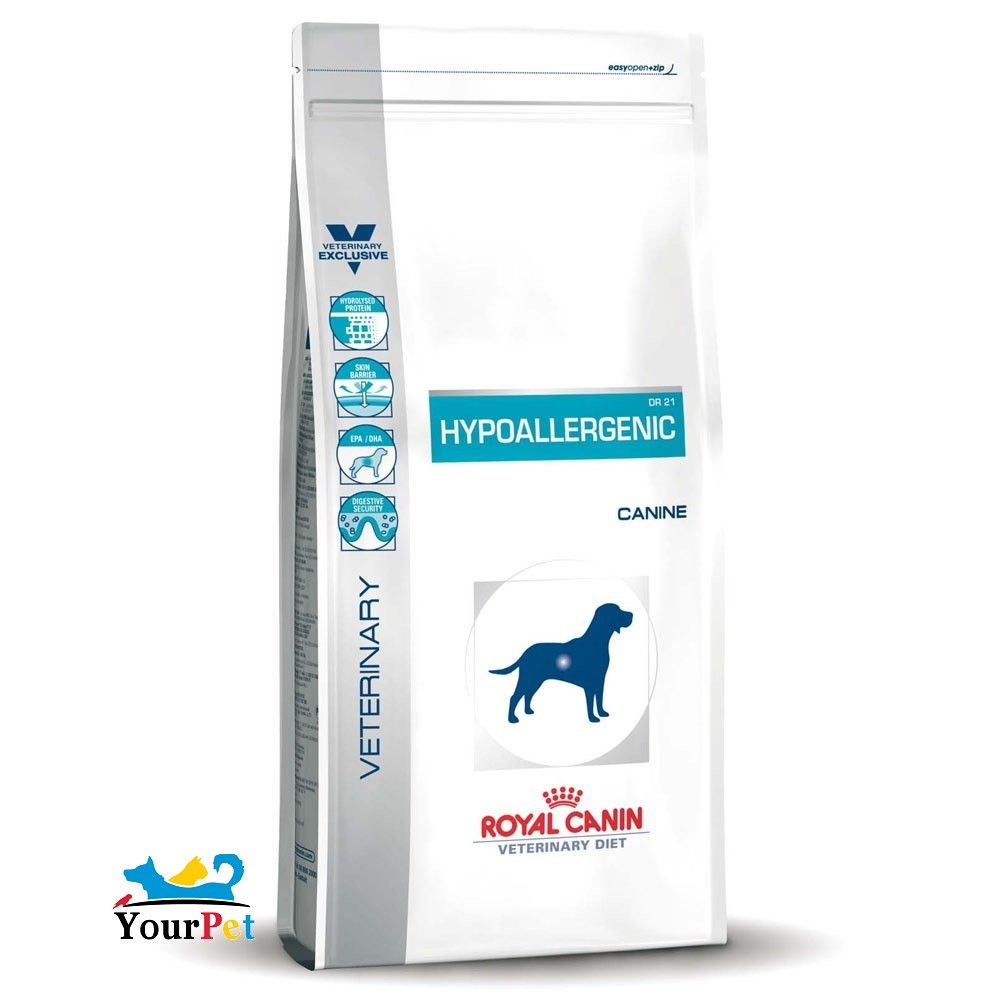 Ração Royal Canin Veterinary Hypoallergenic para Cães Adultos (10,1 kg)