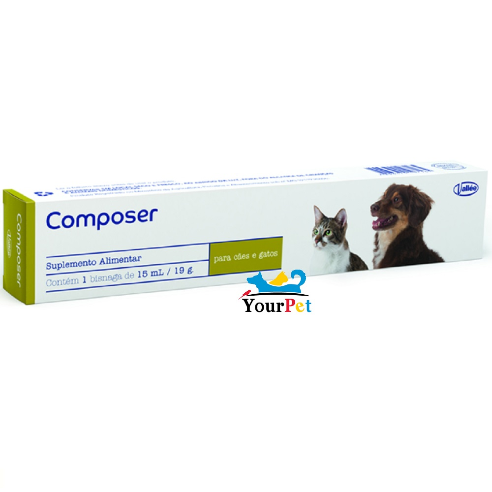 Suplemento Alimentar Composer para Cães e Gatos - Vallée (15 ml / 19 g)