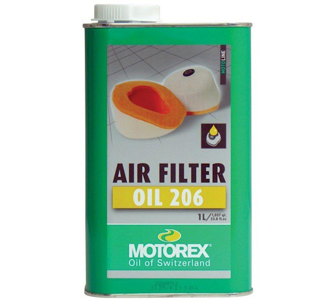 Óleo para Filtro de Ar de Espuma - Air Filter OIL 206 - 1L - Motorex