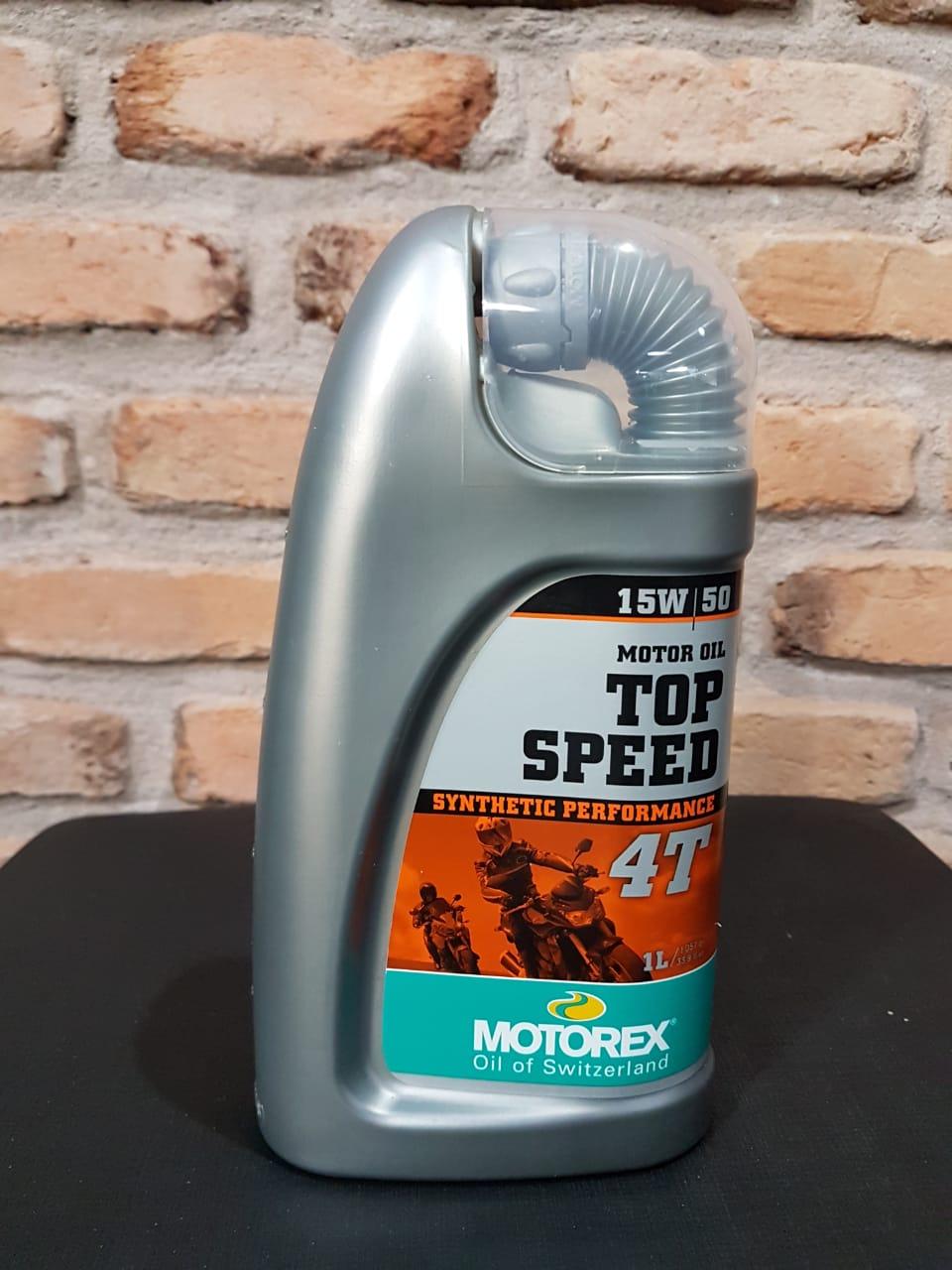 Top Speed 4T 15W50 - 1L - Motorex