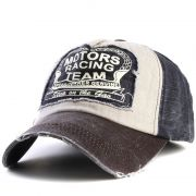 Boné Vintage Old School - Motors Racing Club - Black