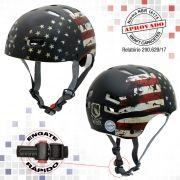Capacete Kraft Bike USA - Fosco