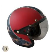 Capacete Kraft Old School - Confederado
