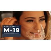 Kit 5 Mascaras Transparentes Com Filtro M19 Lavável Vedação 100%
