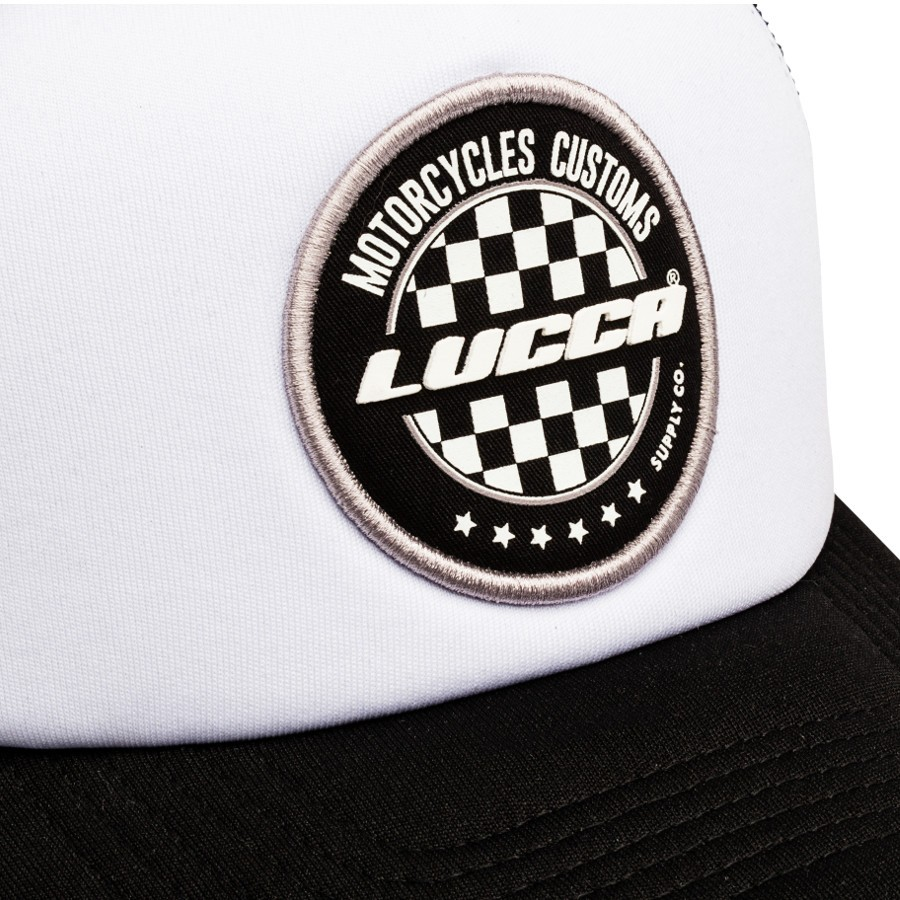 Boné Vintage Old School - Lucca Customs - Race Flag