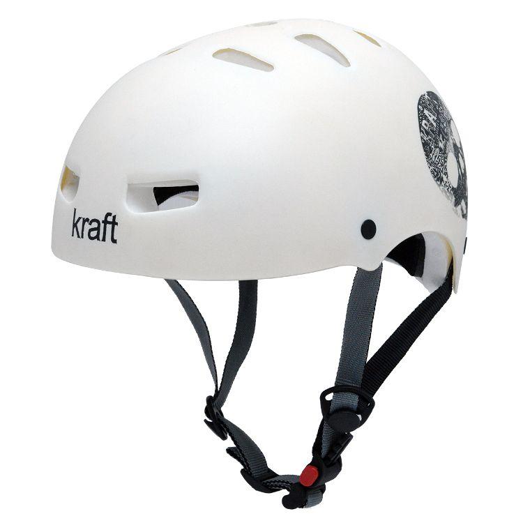 Capacete Kraft Bike Caveira