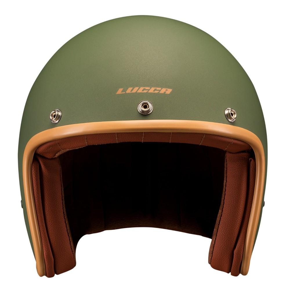 Capacete Lucca Customs Matt Green - Verde Fosco