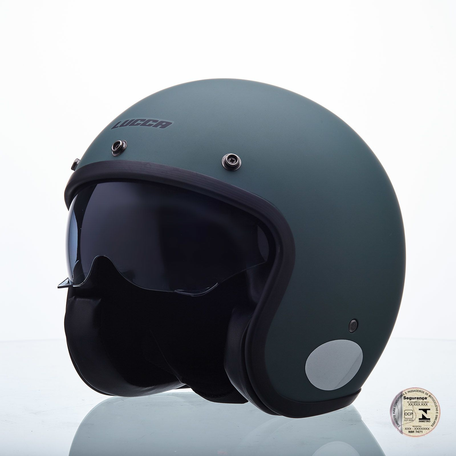 Capacete Lucca Customs Sublime Militar