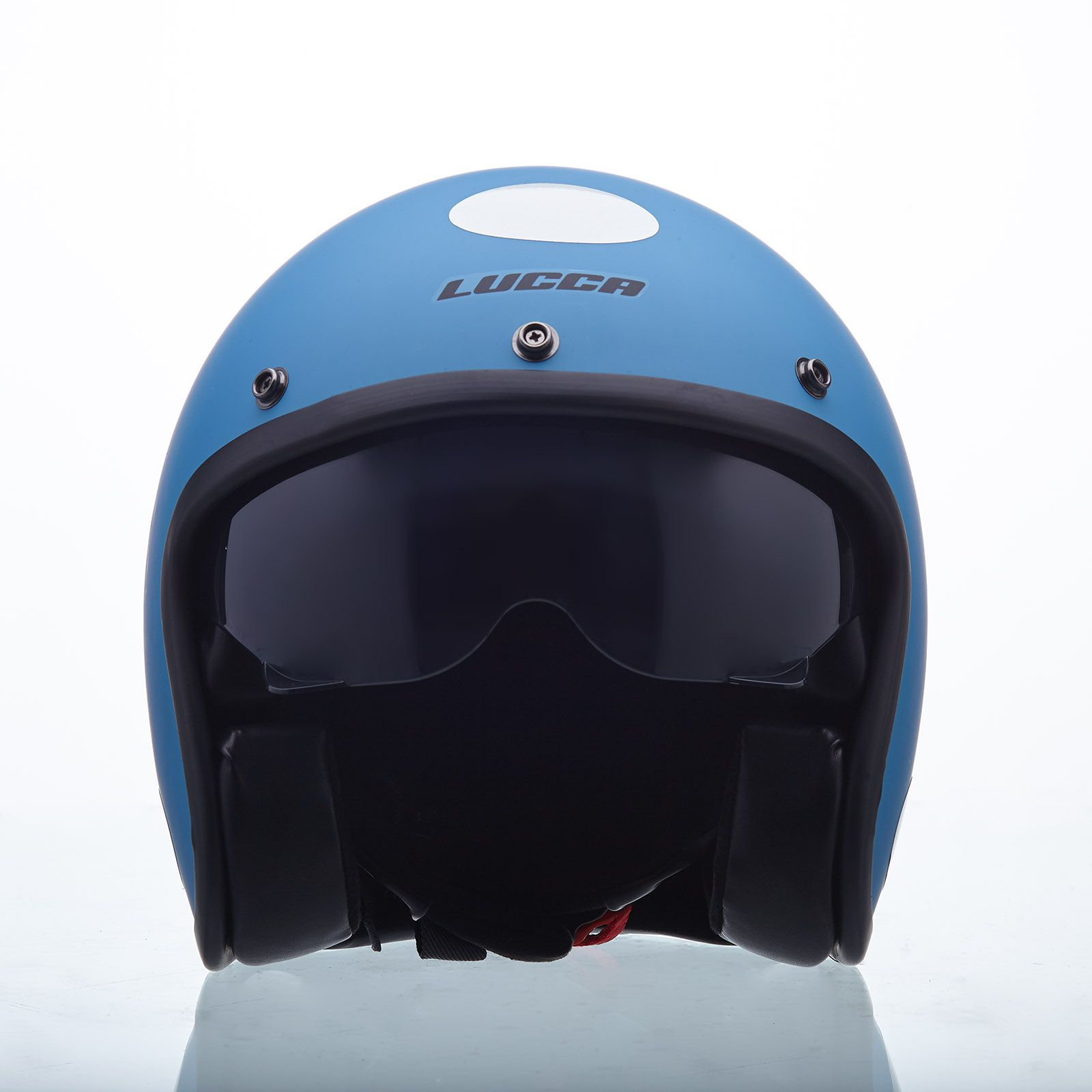 Capacete Lucca Customs Sublime Petrol - Com Viseira Bolha