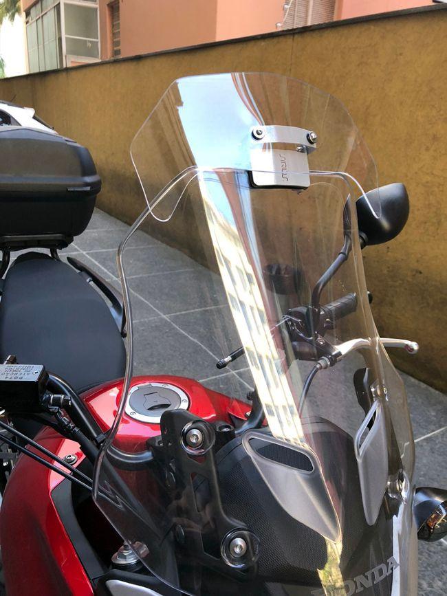 Defletor de Para-brisa Honda CB 500 X  Anos: 2017 - 18