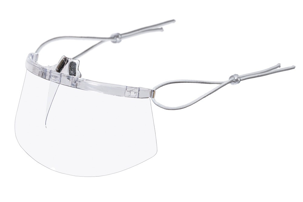 Máscara Transparente Lavável / Reutilizável - Apoio Nariz
