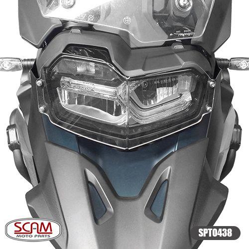 Protetor De Farol Bmw F750 GS / F850 GS - Em Policarbonato