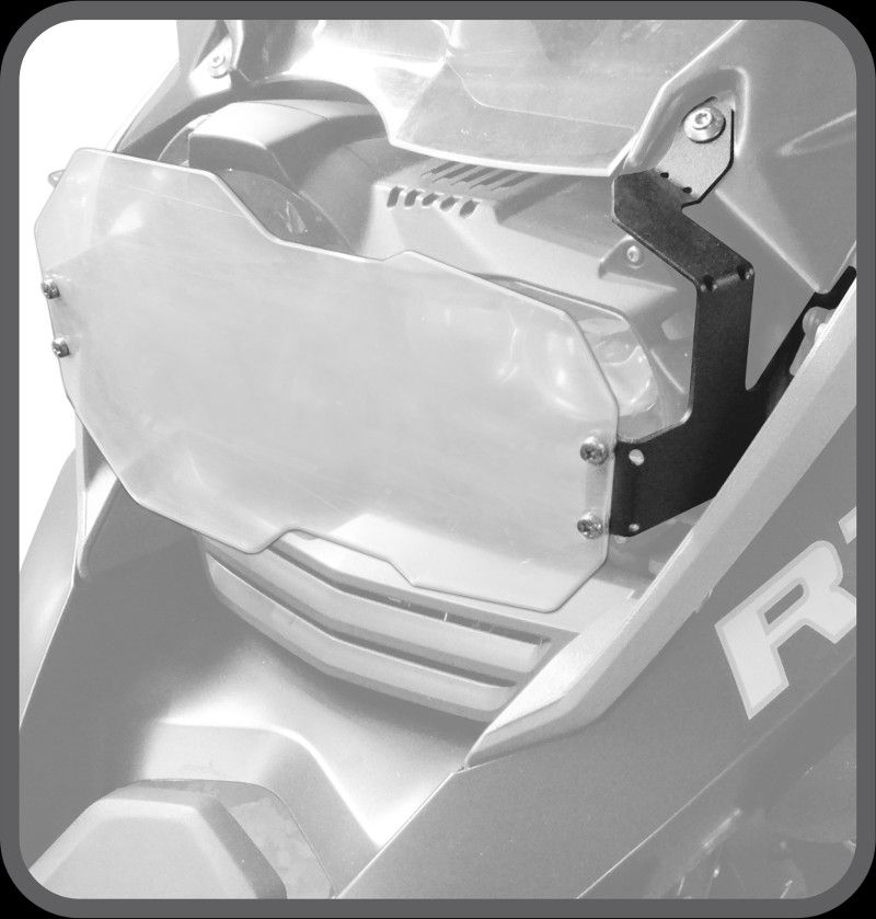 Protetor de Farol - Policarbonato - BMW R1200 GS & R1200 GS ADVENTURE