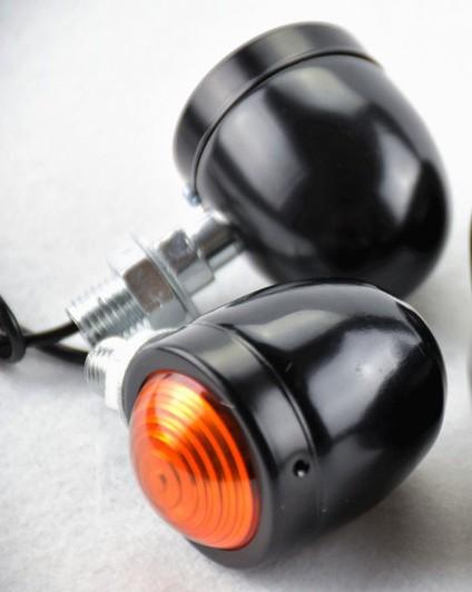 Setas - Piscas Modelo Mini - Bullet Black