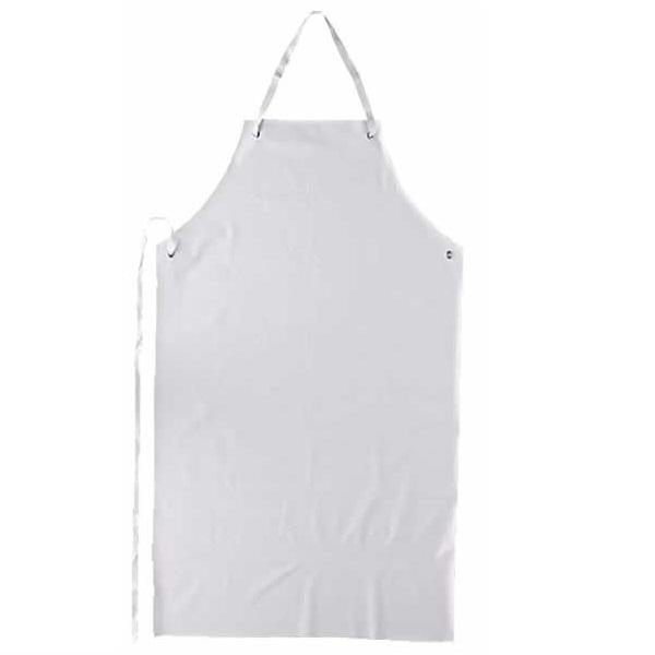 Avental de PVC Branco com Tiras Soldadas CA 21075 - Plastcor