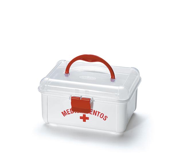 Caixa para Kit de Primeiros Socorros 19,5 X 15 X 10 CM
