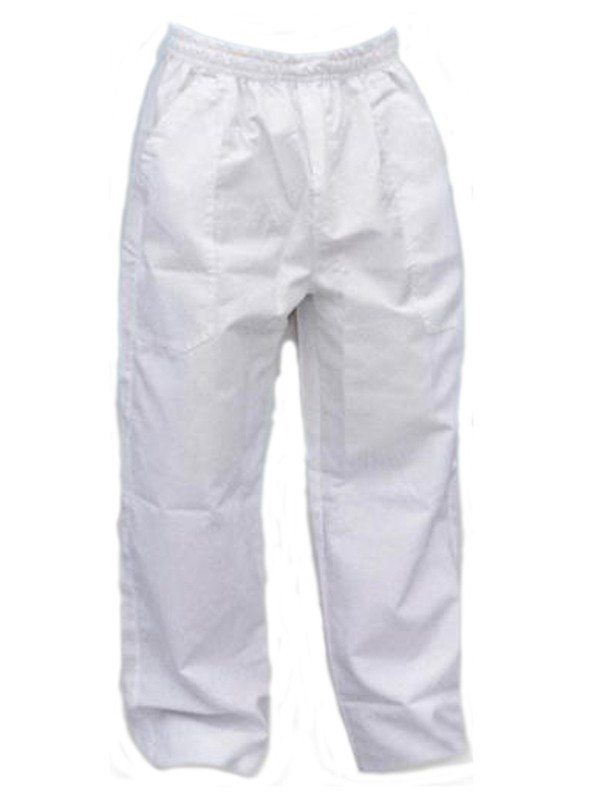 Calça Brim Branca 100% Algodão