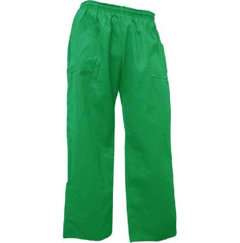 Calça Brim Profissional Verde 100% Algodão