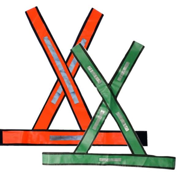 Colete Tipo X com Refletivo - Plastcor