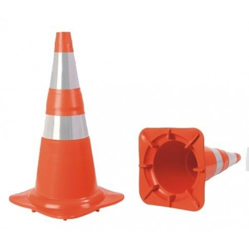 Cone Flexível da Norma LR/BR com Refletivo NBR 15071 - Plastcor