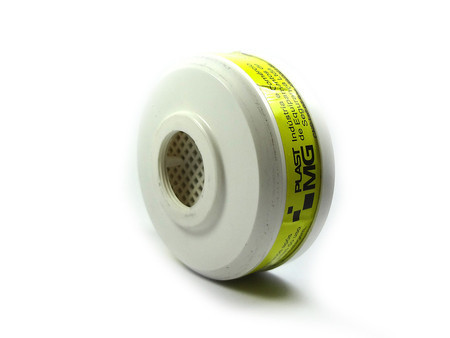 Filtro Químico VO/GA contra Vapores Orgânicos e Gases Ácidos - Plastcor