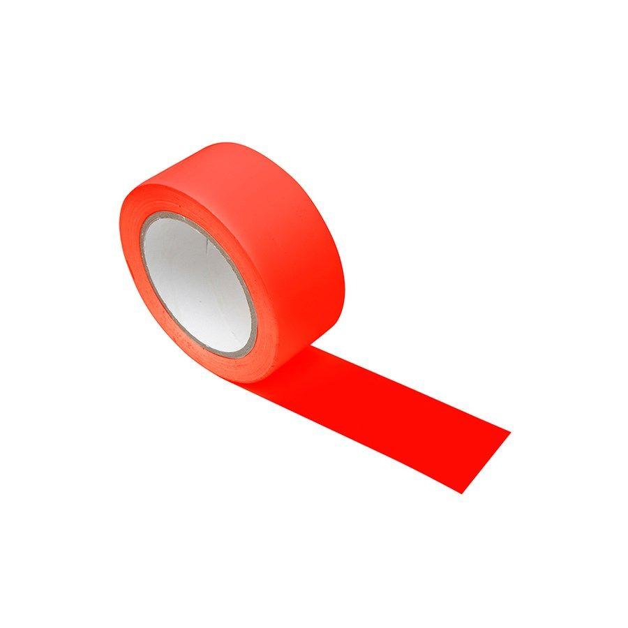 Fita Vermelha para Demarcação 48MM x 30MTS - Plastcor