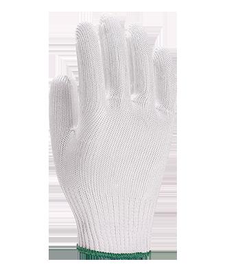 Luva Tricotada Anti Corte Branca 2 Fios de Aço CA 41289 - Yeling