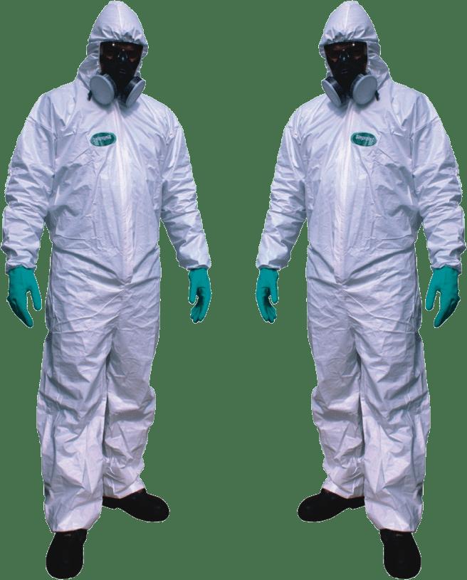 Macacão Tyvek de Polipropileno Contra Líquidos Químicos - Ganiris