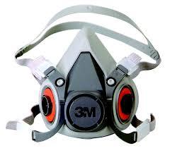 Respirador Semi Facial 6200 CA 4115 - 3M