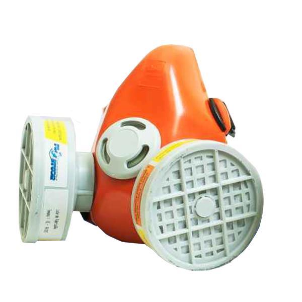 Respirador Semi-Facial para 2 Filtros VO+GA (Não Acompanha os Filtros) CA 39429 - Plastcor