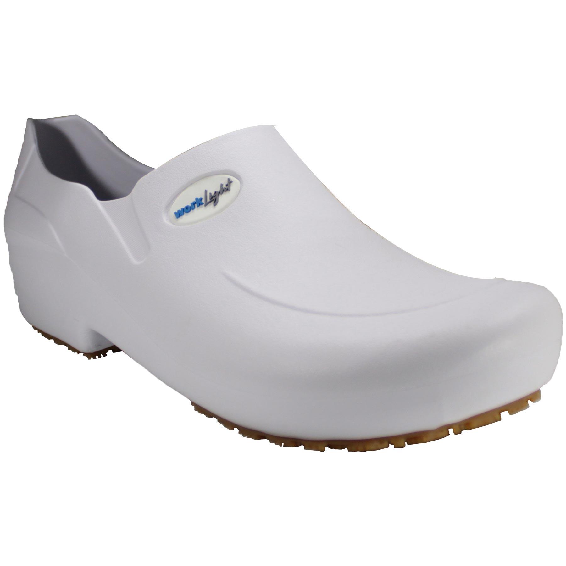 Sapato Antiderrapante Branco Work Light 50WLSB6 CA 40790