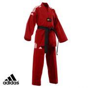 Dobok Adidas AdiChampion Color (vermelho)