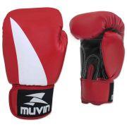 Luva de boxe Muvin Bolt BX (vermelha)