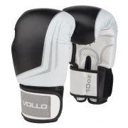 Luva de Boxe Vollo IFS (preta) Kickboxing, Muay Thai e etc