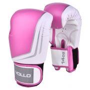 Luva de Boxe Vollo IFS (rosa) Kickboxing, Muay Thai e etc