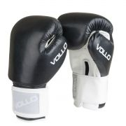 Luva Vollo Combat para Boxe, Kickboxing e Muay Thai (preta)