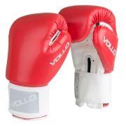 Luva Vollo Combat (vermelha) Boxe, Kickboxing e Muay Thai