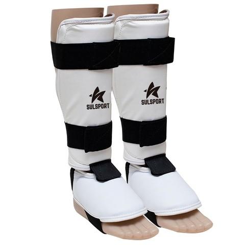 Caneleira com protetor de pé (Taekwondo)