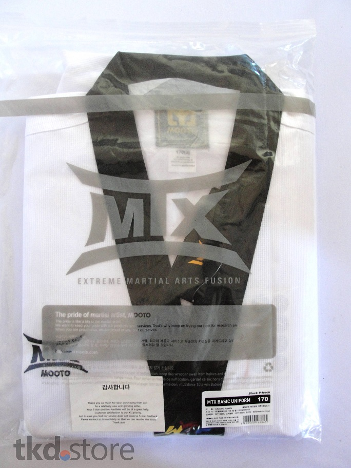 Dobok  Mooto MTX Basic (gola preta) WTF