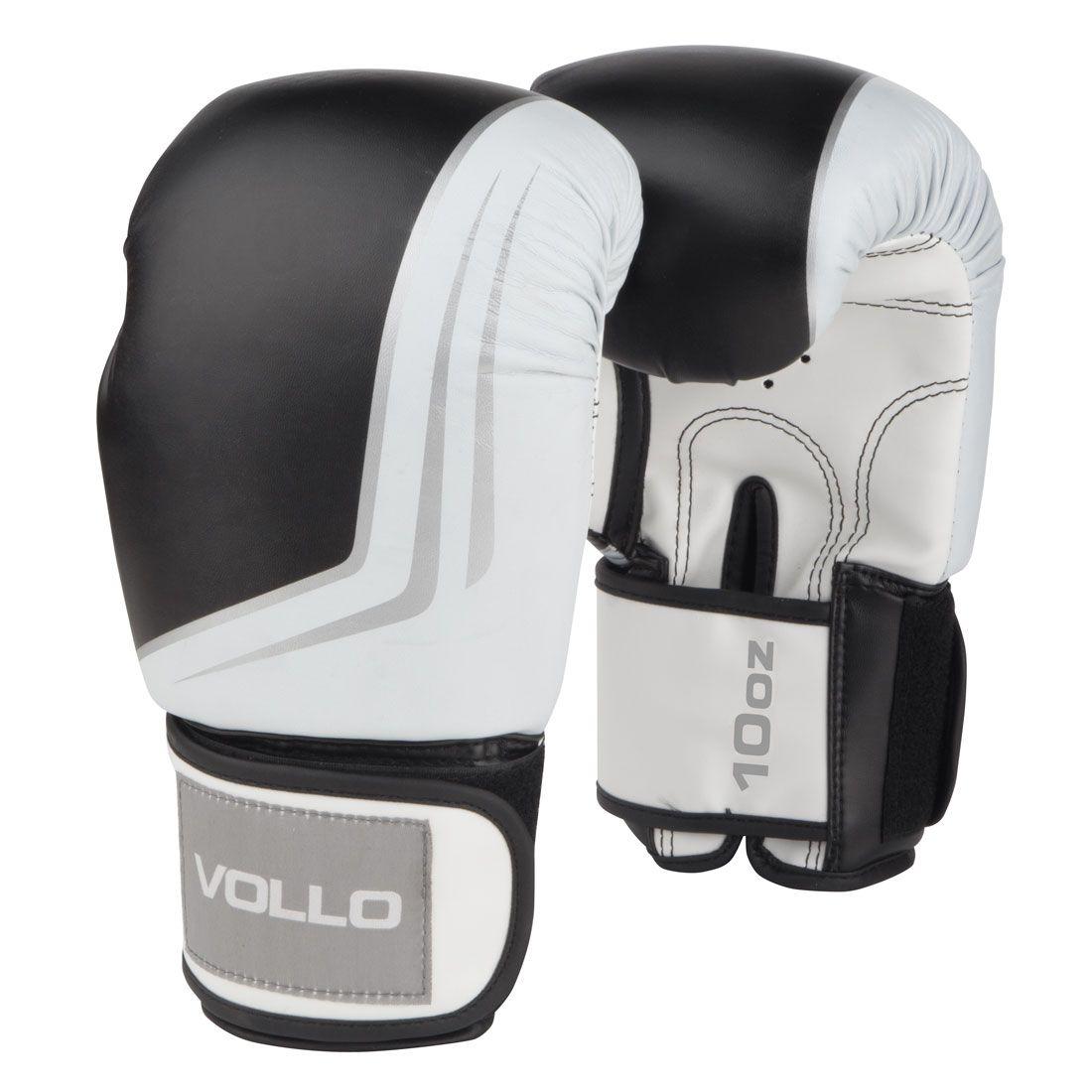Luva de Boxe Vollo IFS (preta) Kickboxing 7e29e0226bb41