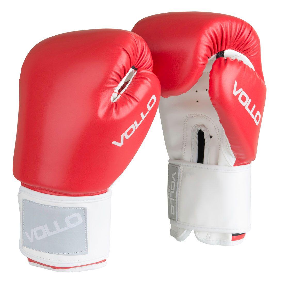 Luva Vollo Combat (vermelha) Boxe 5b7c80ec23782