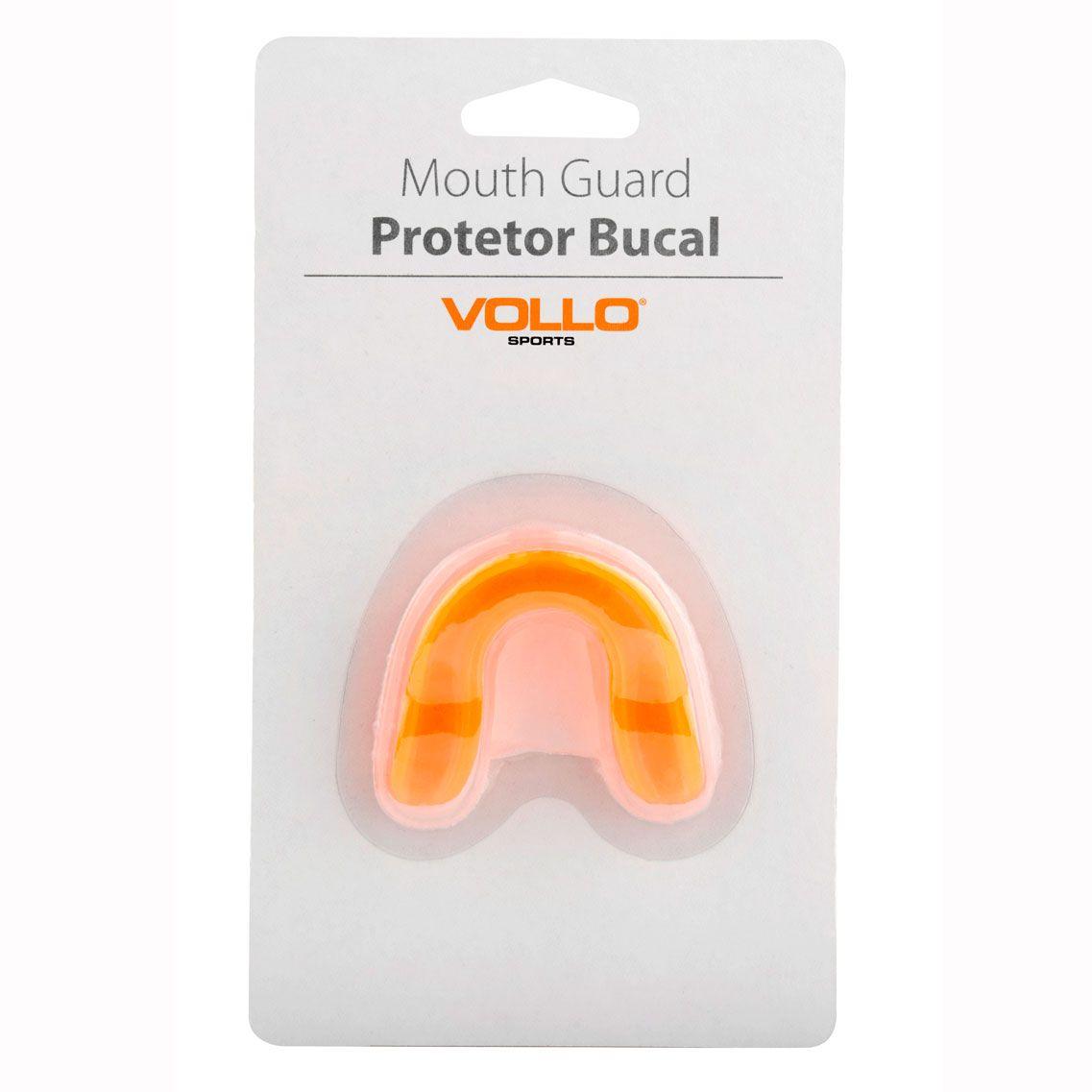 Protetor Bucal Vollo (laranja)