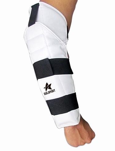Protetor de antebraço com cotoveleira para Taekwondo