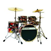 Bateria Acustica Noah Dc5 Bumbo 22 Completa Oil Painting