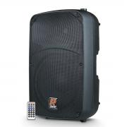 Caixa De Som Ativa Staner Sr315a Bluetooth 300w Rms