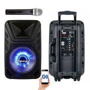 Caixa Oneal Ativa Com Bateria Oneal Omf425 + Microfone