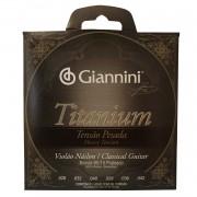 Encordoamento Violao Nylon Giannini Titanium Genwta Pesada