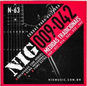 Encordoamento Guitarra Nig N-63 0.09