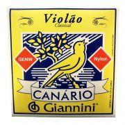 Encordoamento Violao Nylon Giannini Canario Genw